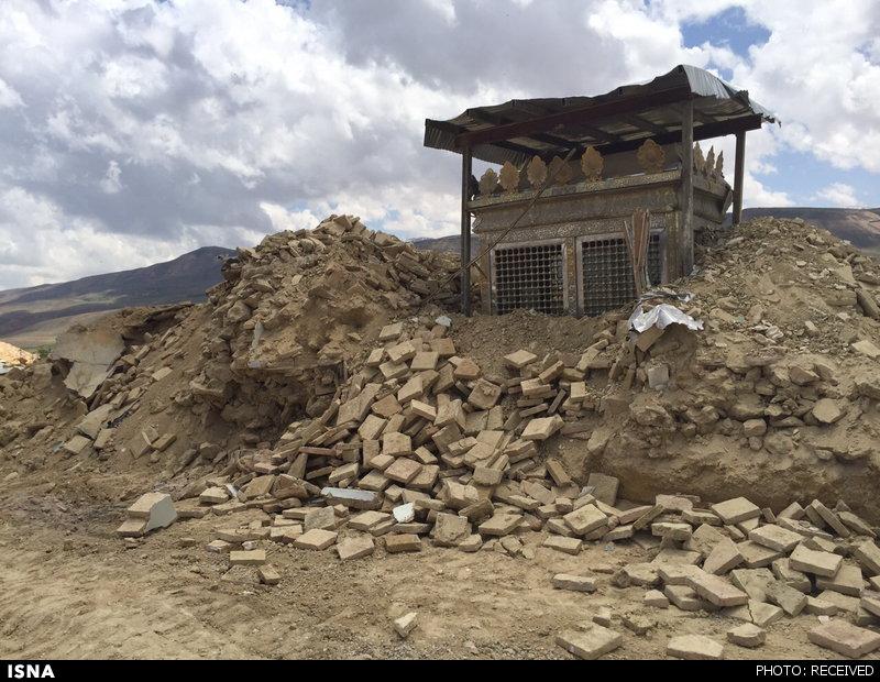 تخریب بنای تاریخی در چهارمحال بختیاری