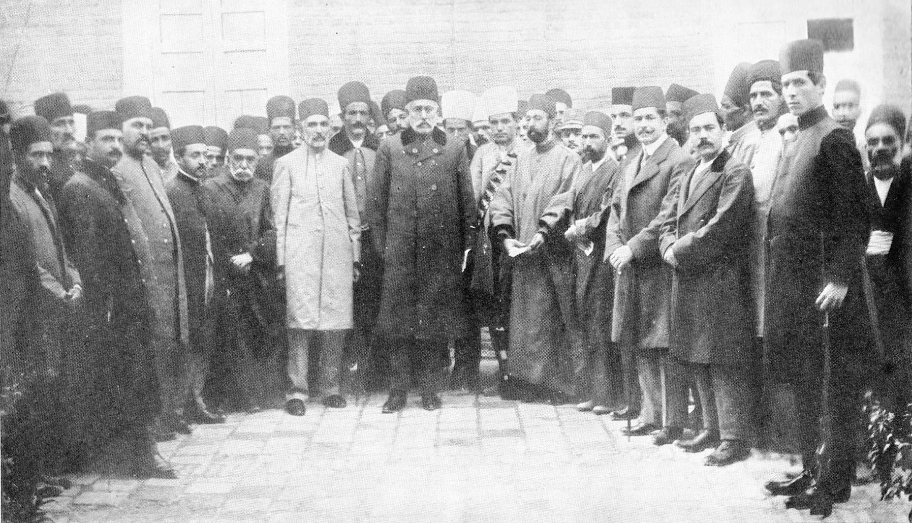 صمصام السلطنه نخست وزیر ایران درمشروطیت