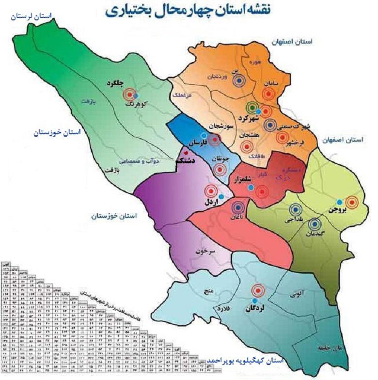 اخبار استان چهارمحال بختیاری
